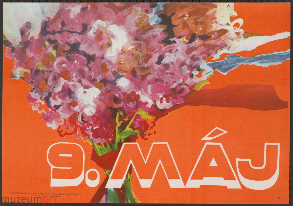 """wizerunek  """"9. MÁJ"""" – plakat propagandowy"""