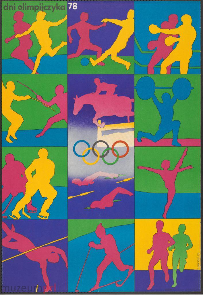"""wizerunek  """"Dni Olimpijczyka 78"""" – plakat"""