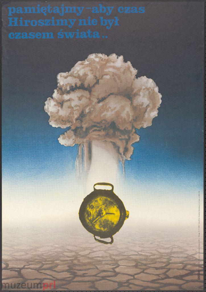 wizerunek  Hiroszima – plakat propagandowy