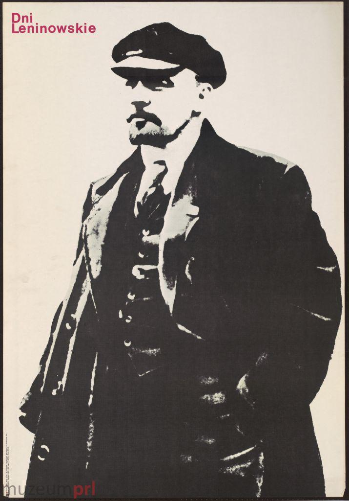 """wizerunek  """"Dni Leninowskie"""" – plakat propagandowy"""