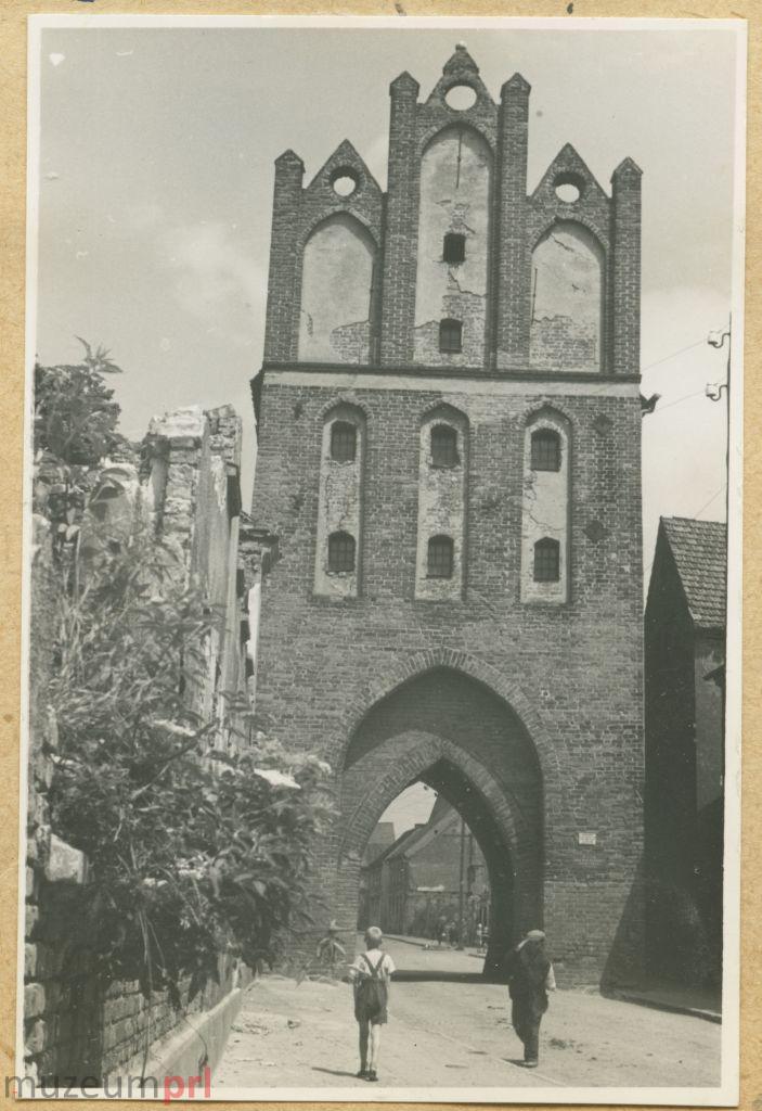 wizerunek  Brama Kamienna w Pasłęku