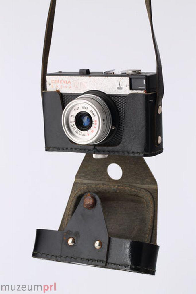 wizerunek  Aparat fotograficzny СМЕНА (Smiena) 8M w skórzanym futerale