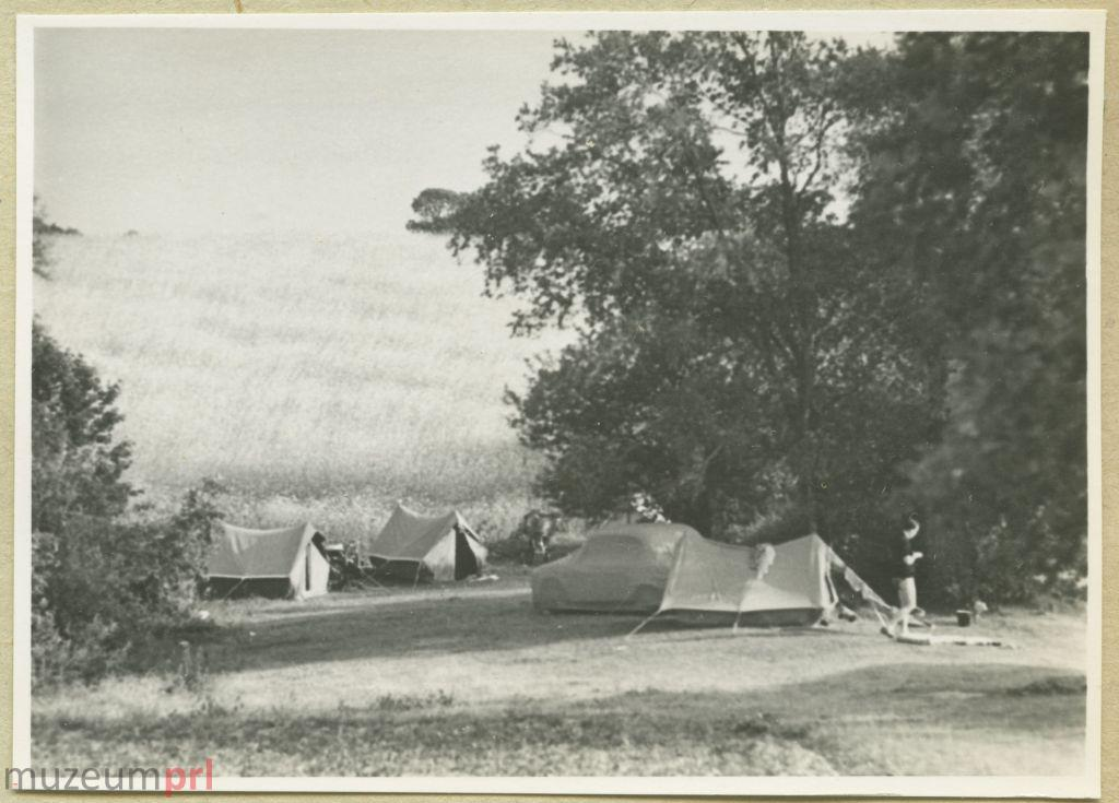 wizerunek  Biwak w okolicy Okartowa