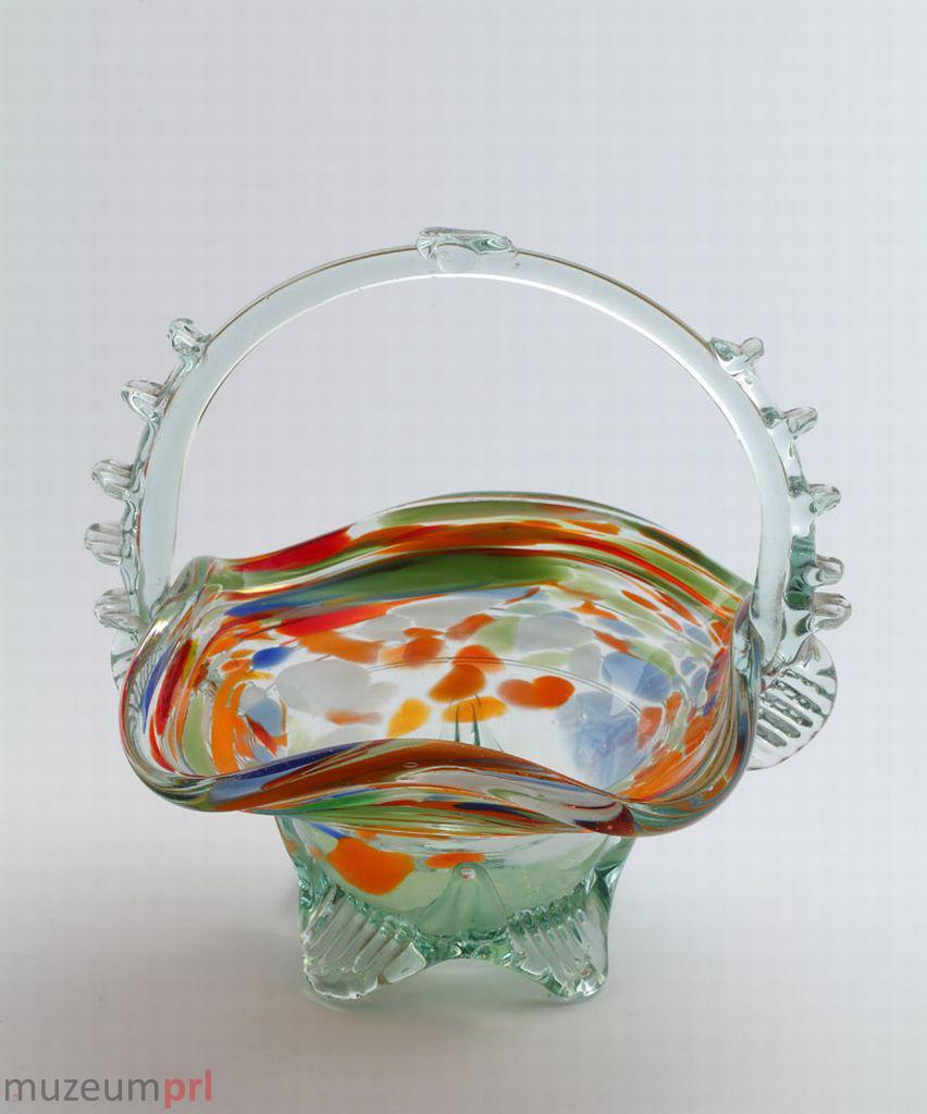 wizerunek  Kosz na owoce z barwionego szkła