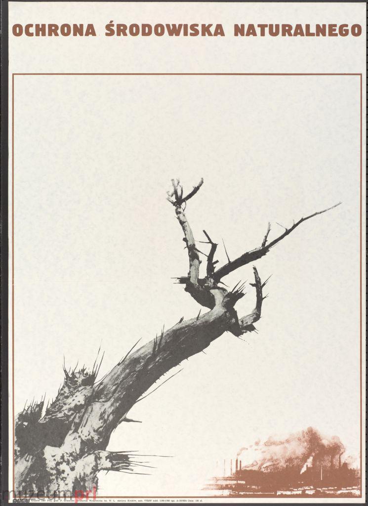 """wizerunek  """"Ochrona środowiska naturalnego"""" – plakat"""